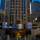 Постер, плакат: Rockfeller Center Cafe