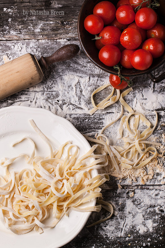 Photograph Pasta and Tomatoes by Natasha Breen on 500px