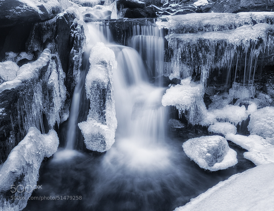Photograph Winter Waterfall by Arild Heitmann on 500px