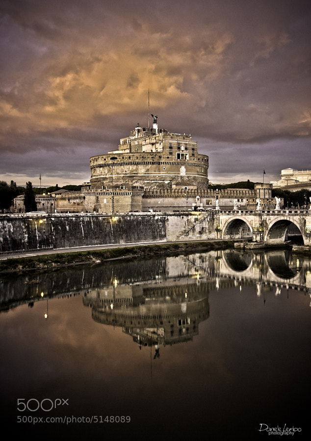 Rome - Castel Sant'Angelo by Daniele Lembo (DanieleLembo)) on 500px.com