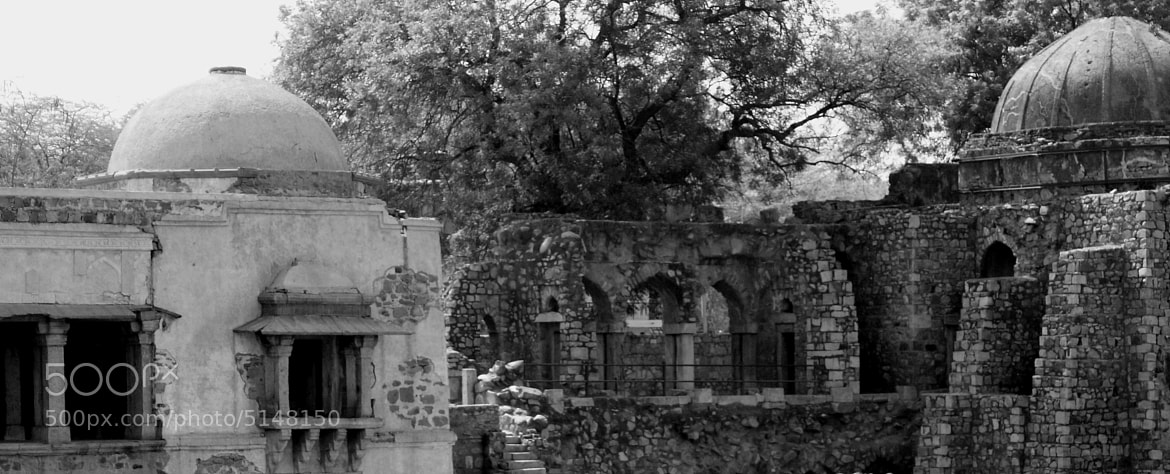 Photograph Hauz Khas Ruins by Anish Dasgupta on 500px