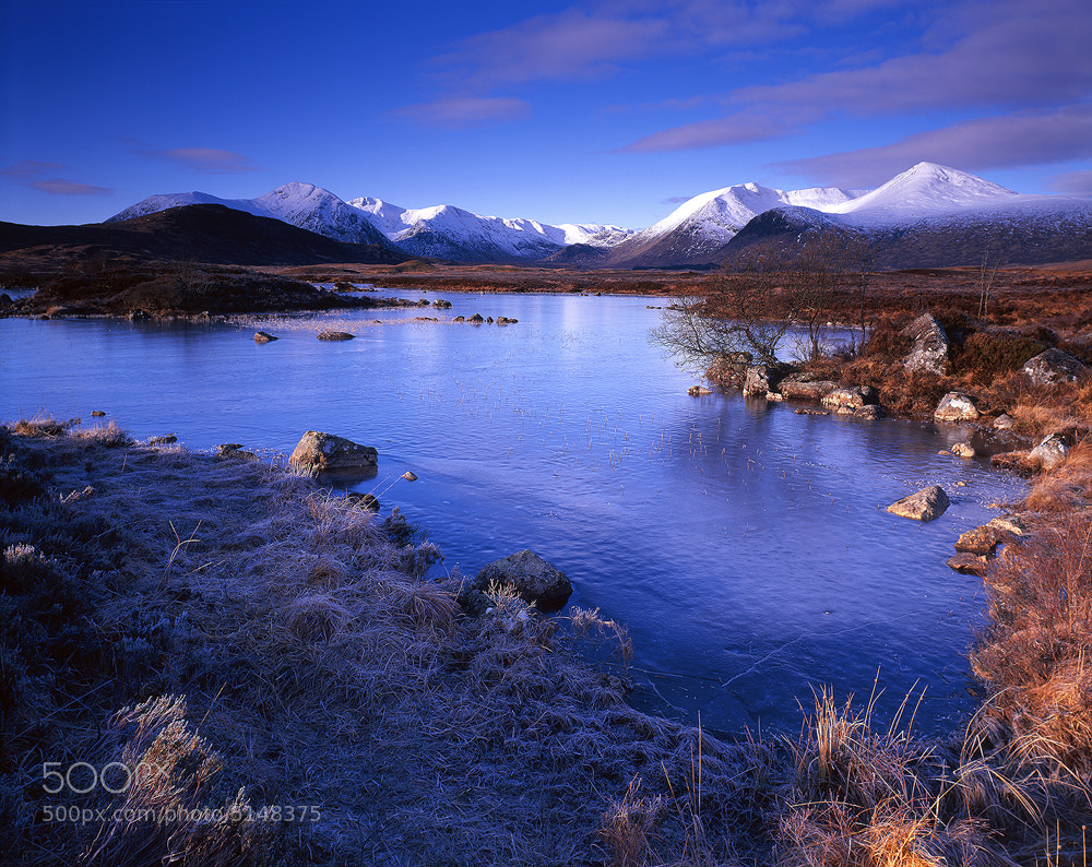 Photograph Winters Day, The Black Mount by Edward Fury on 500px
