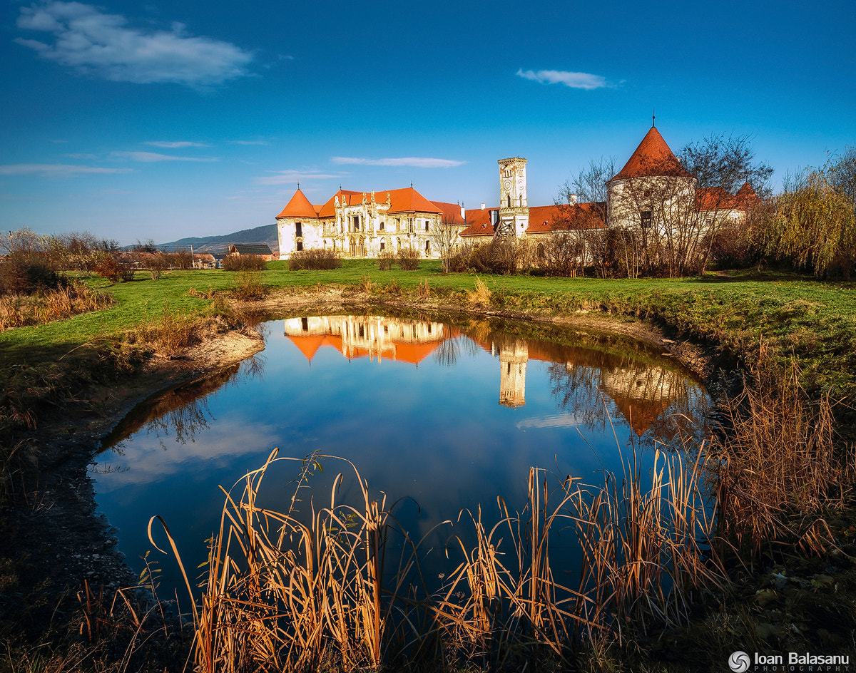 Photograph Reflection of an old castle by Ioan Balasanu on 500px