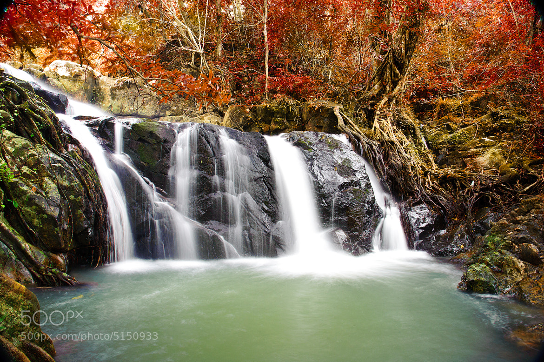 Photograph Jed-kot Waterfall by JAKKRIT IMLIMTHAN on 500px