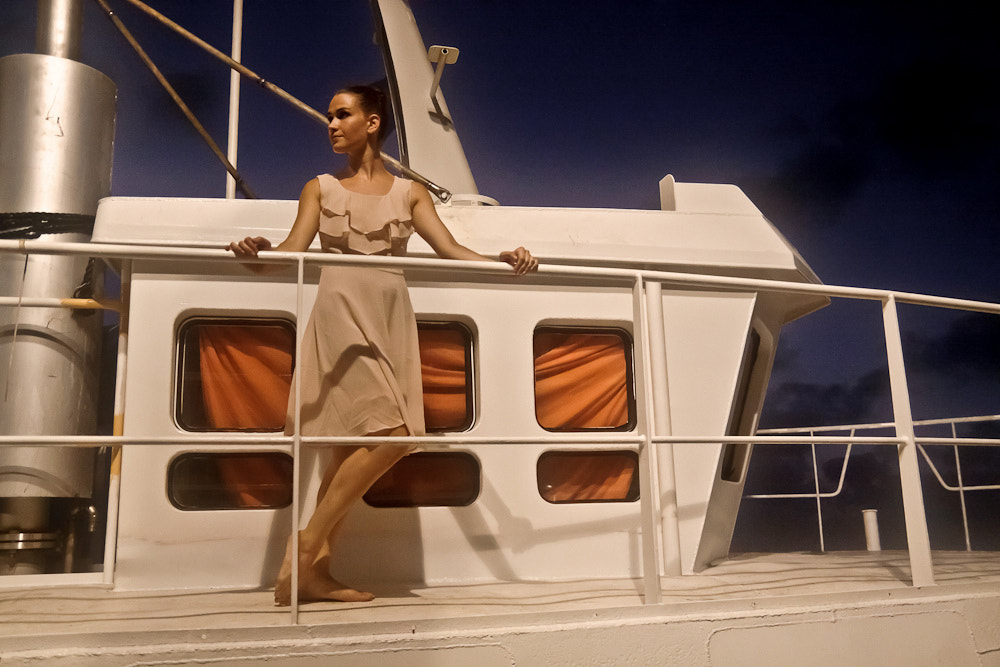 Photograph Model on the boat by Guy Prives on 500px