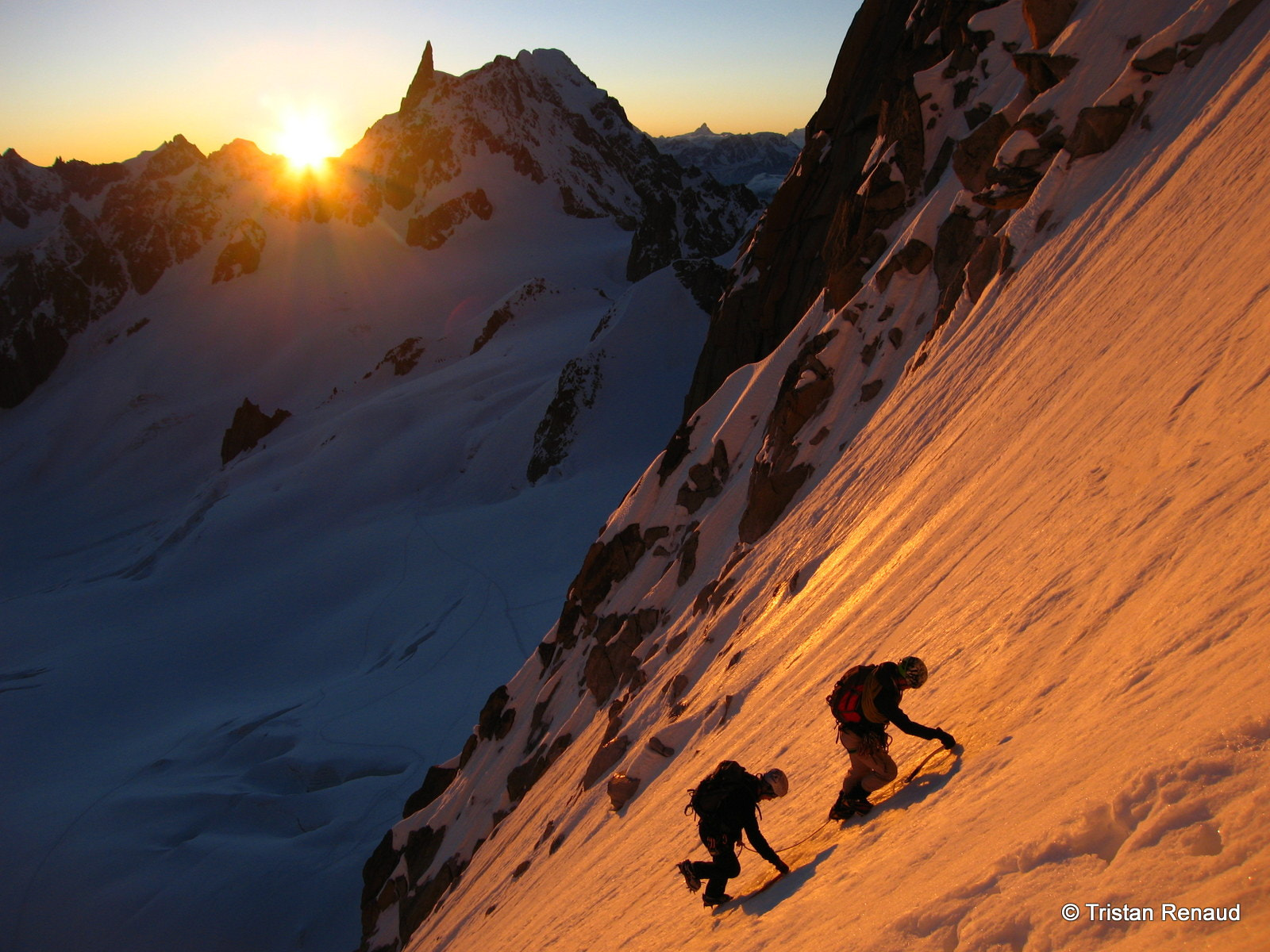 Photograph Sunrise above Chamonix by Tristan Romain on 500px