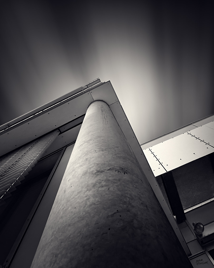 Photograph cityshapes 05 b&w by Max Ziegler on 500px