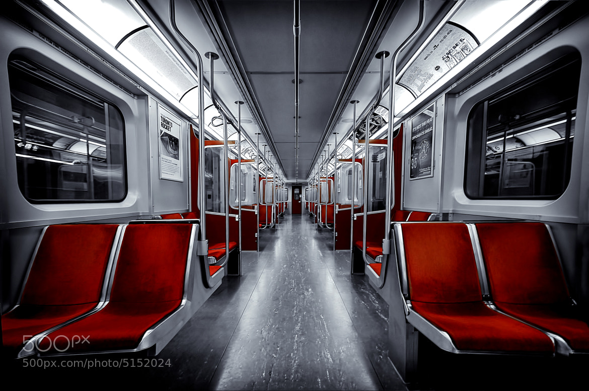 Photograph A subway car in Toronto by Roland Shainidze on 500px