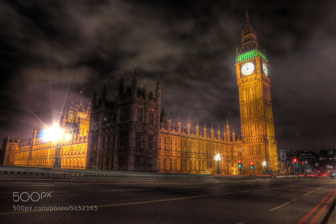 Photograph Big Ben - When London Sleeps by Phil Arntz on 500px