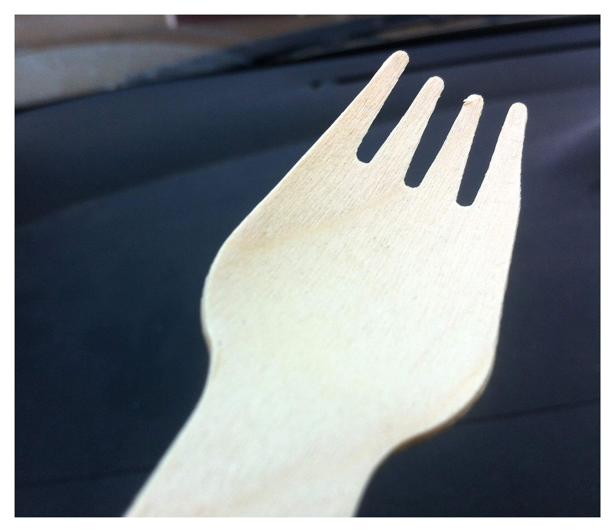 Photograph Wooden Spork by Chris Campbell on 500px