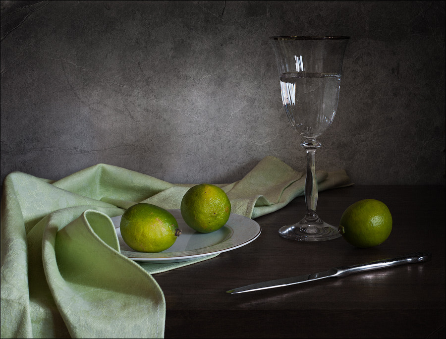 Photograph with limes by Elena Khazina on 500px