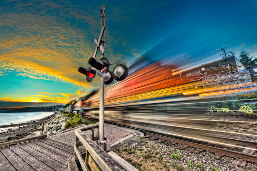 Photograph Express Train by Alex Hill on 500px