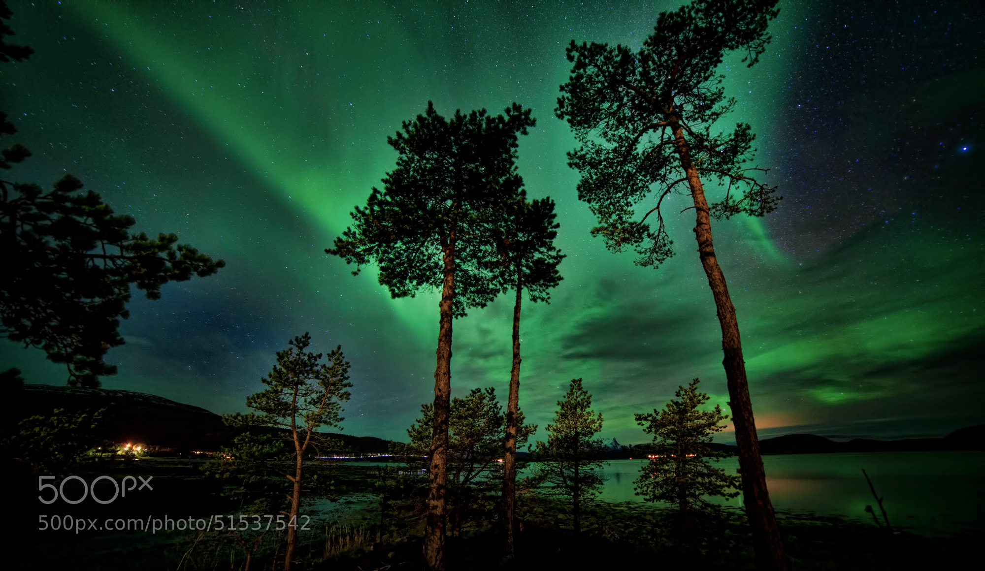 Photograph A Night in November by Morten  Aspaas on 500px