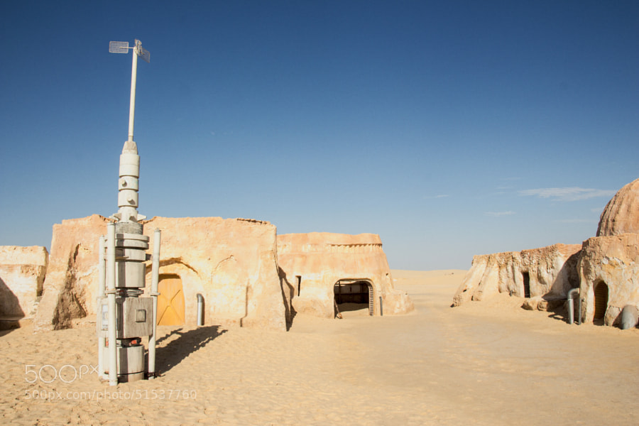 Photograph Star Wars Set Visit - Tunisia by Gordon Foley on 500px