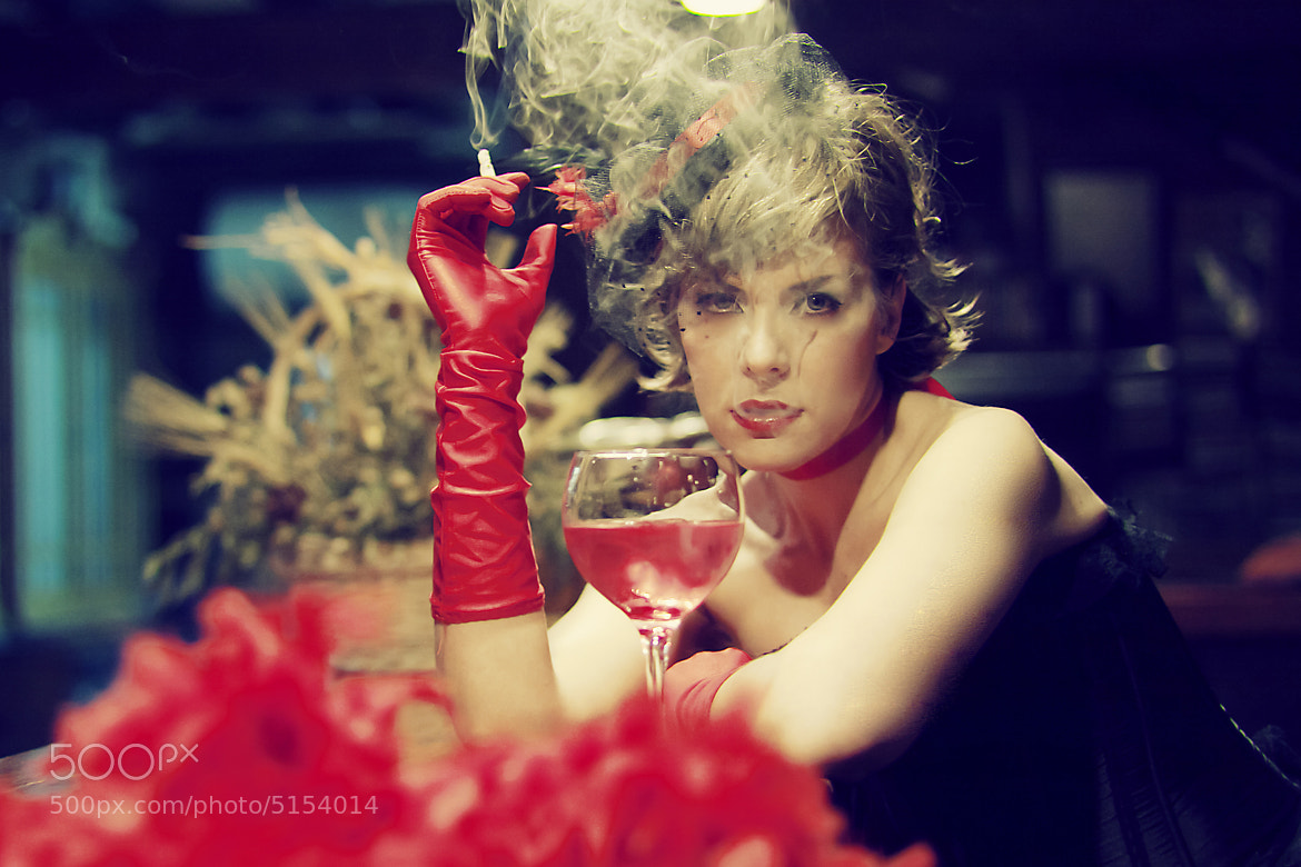 Photograph Smoking  by Carmen Hache on 500px
