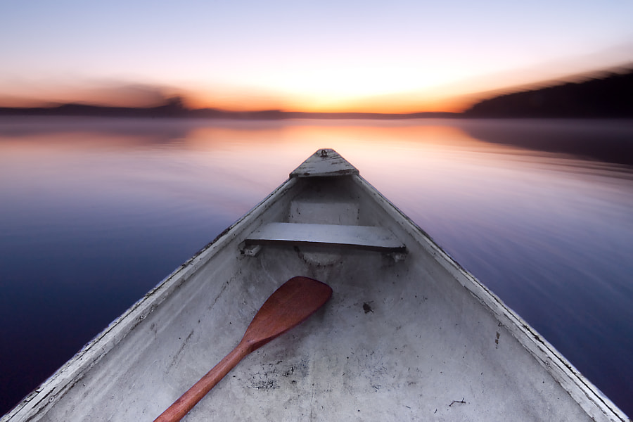 Old, Crooked Canoe by Michael Higgins on 500px.com
