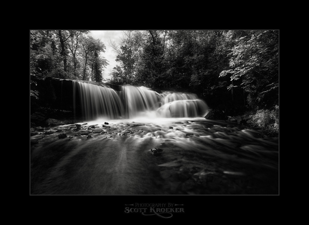 Photograph Raleigh Falls (BW) by Scott Kroeker on 500px