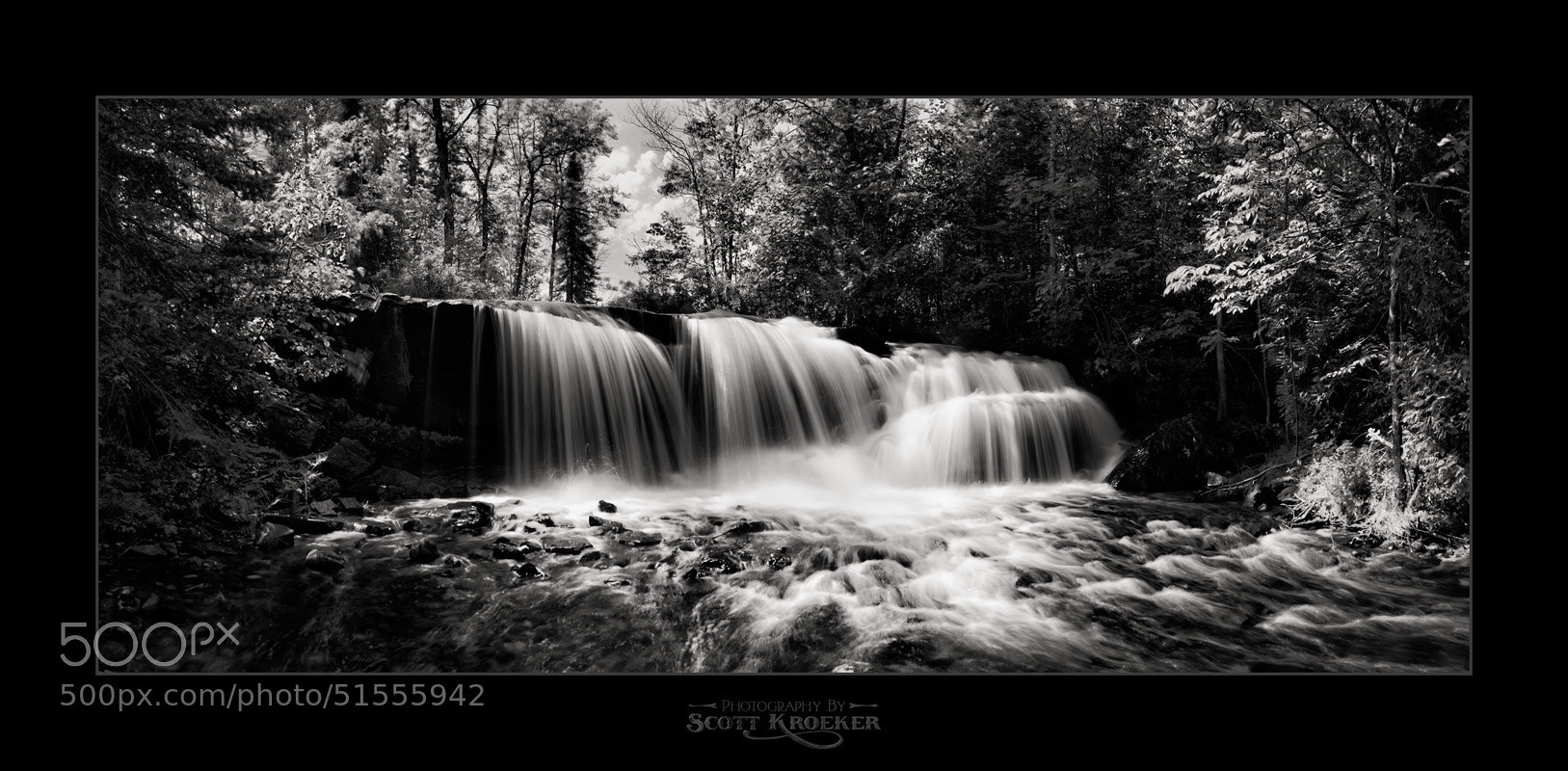 Photograph Raleigh Falls Panorama by Scott Kroeker on 500px
