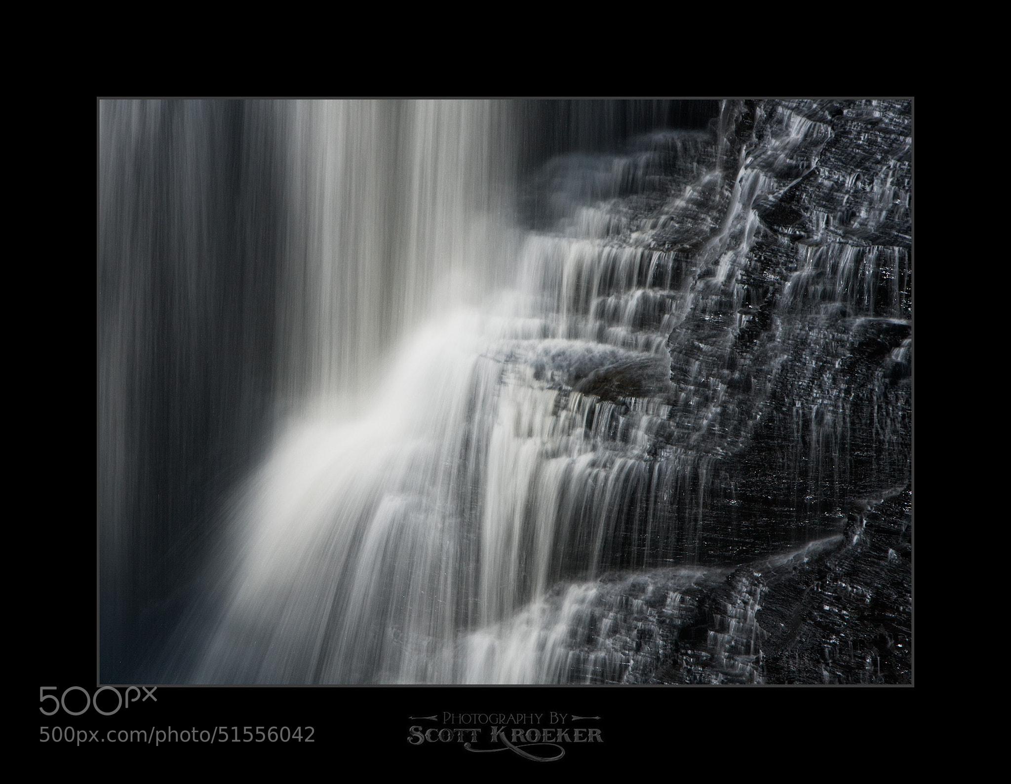 Photograph Kakabeka Falls (BW) by Scott Kroeker on 500px
