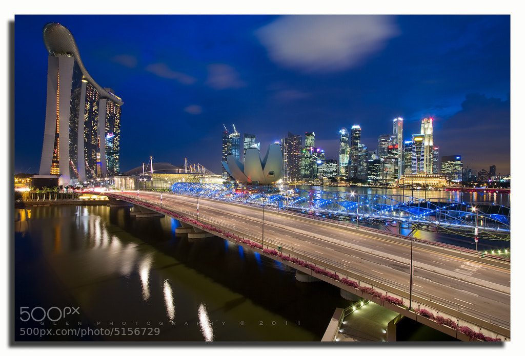 Photograph Singapore Skyline  by Glen Espinosa  on 500px