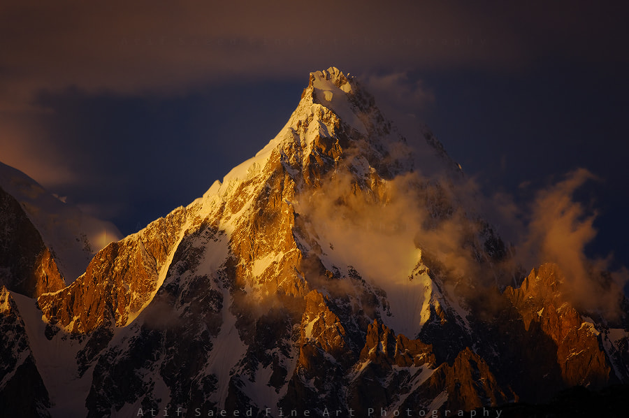 Photograph Momhil Sar 7343m.. by Atif Saeed on 500px