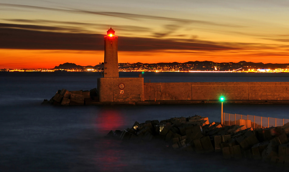 Photograph * Le phare de Nice * by clement jousse on 500px