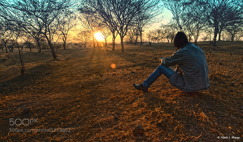 Photograph The Sunrise Watcher by Nilesh Bhange on 500px