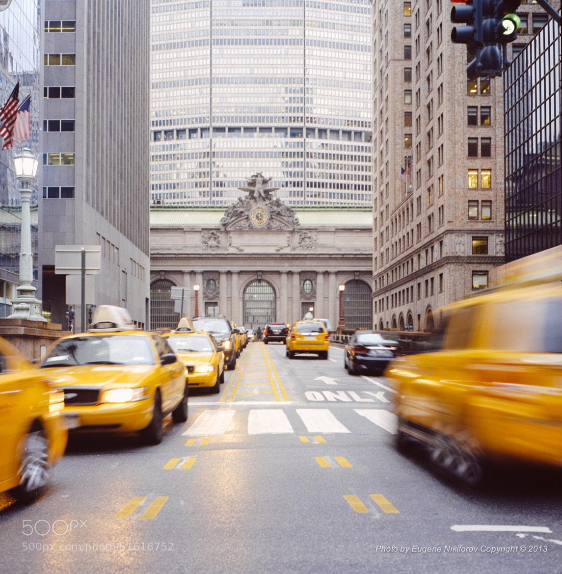Photograph Yellow Cabs at Grand Central Station, Manhattan by Eugene Nikiforov on 500px