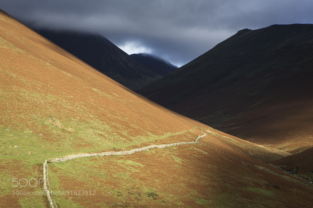 Photograph Buttermere fells by Terry Gibbins on 500px