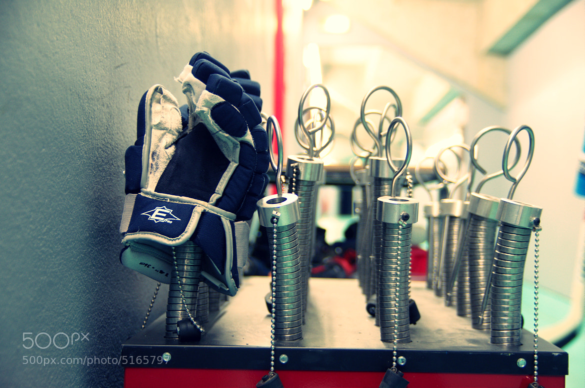 Photograph Hockey backstage by Renaud G. on 500px