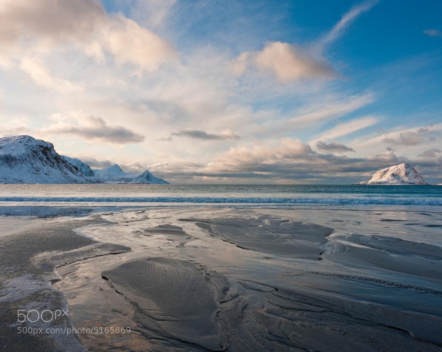 Haukland Beach, Vestvagoy, Lofoten Islands, Norway
