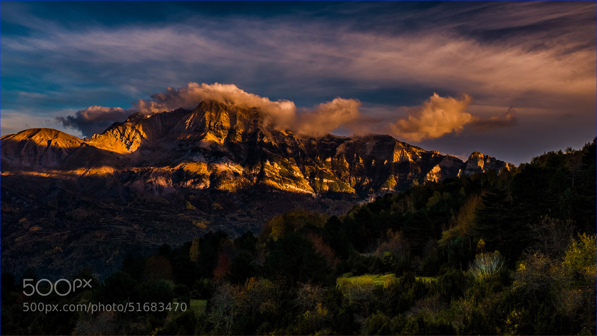 Photograph Pico Royo-Peña Blanca (Huesca) by Ferran Cartagena  on 500px