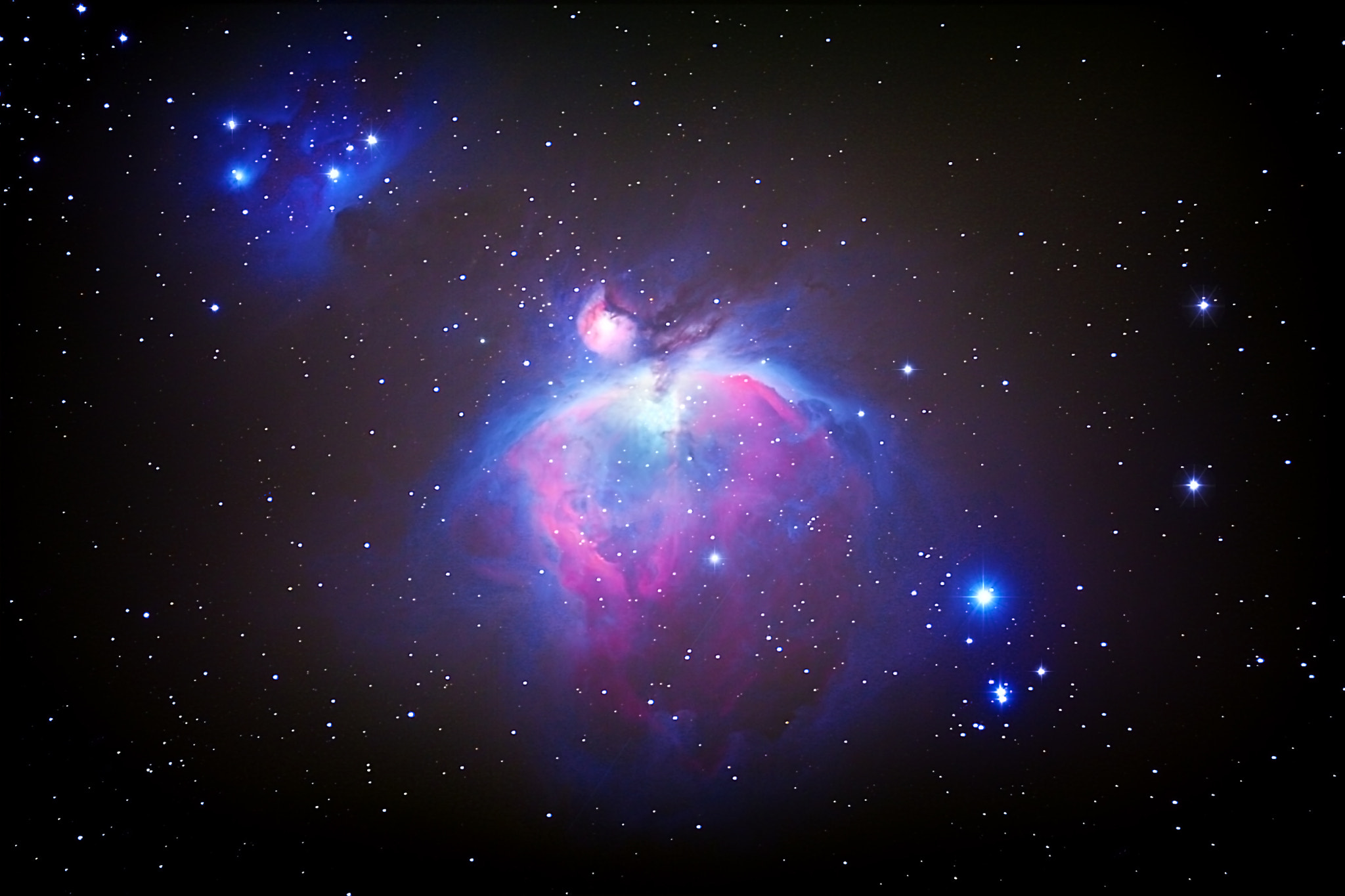 Photograph M42- The Orion Nebula by Sean Parker on 500px