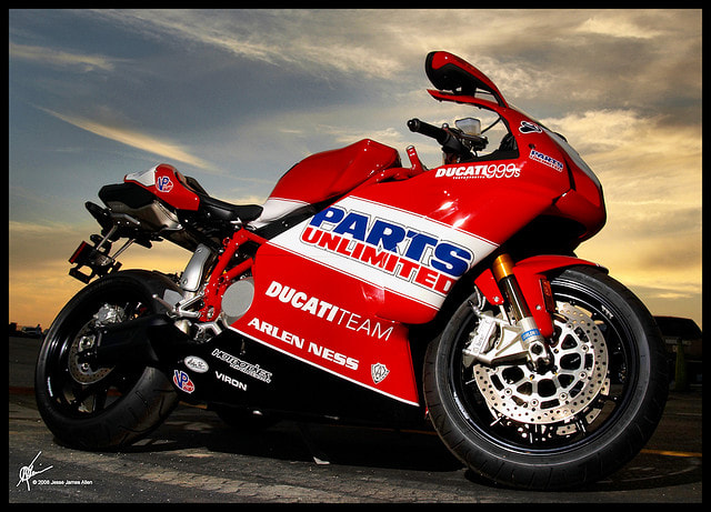 Photograph Ducati 999s by Jesse James  Allen on 500px