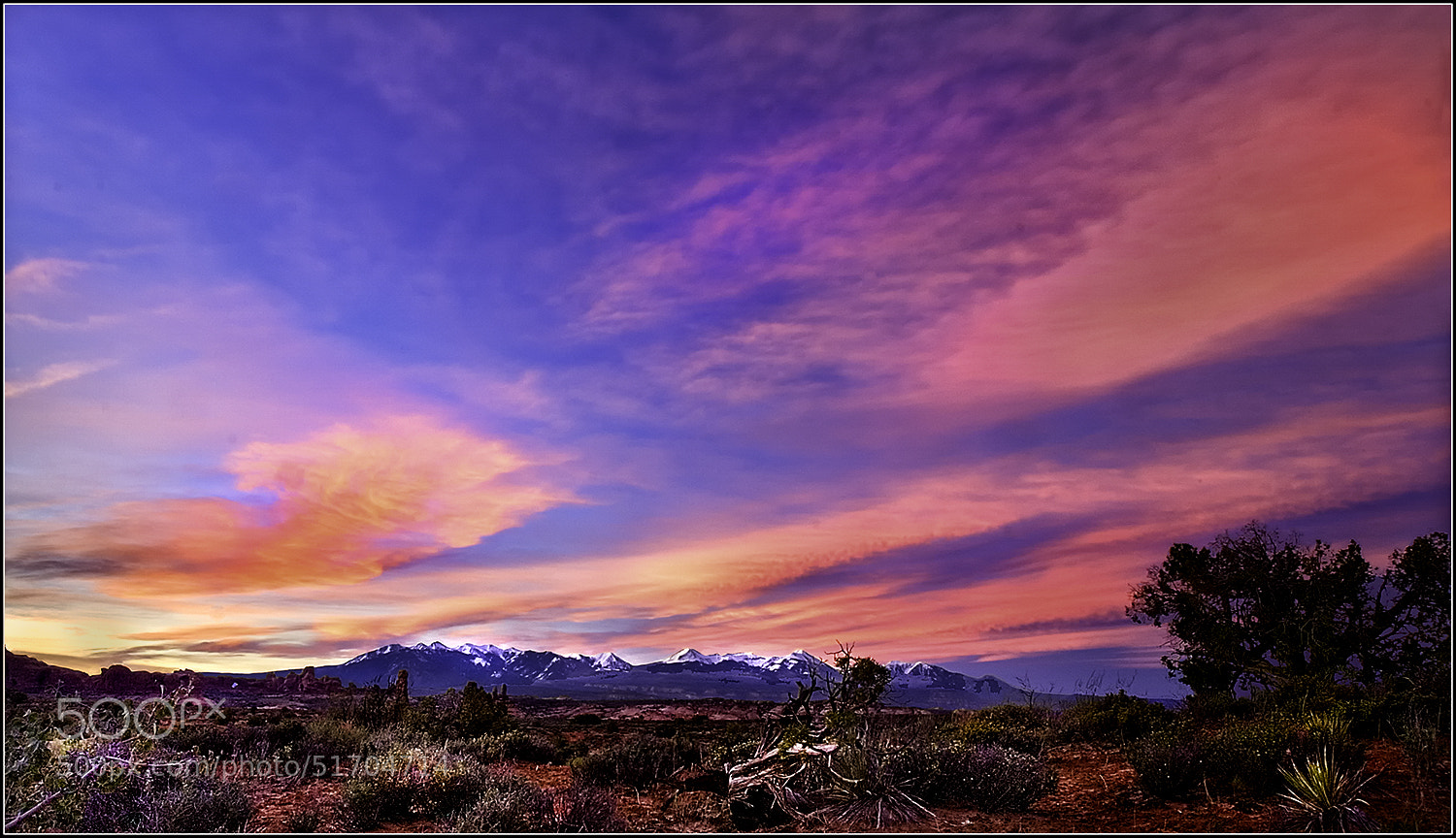 Photograph Desert Sunrise by Brian Clark on 500px