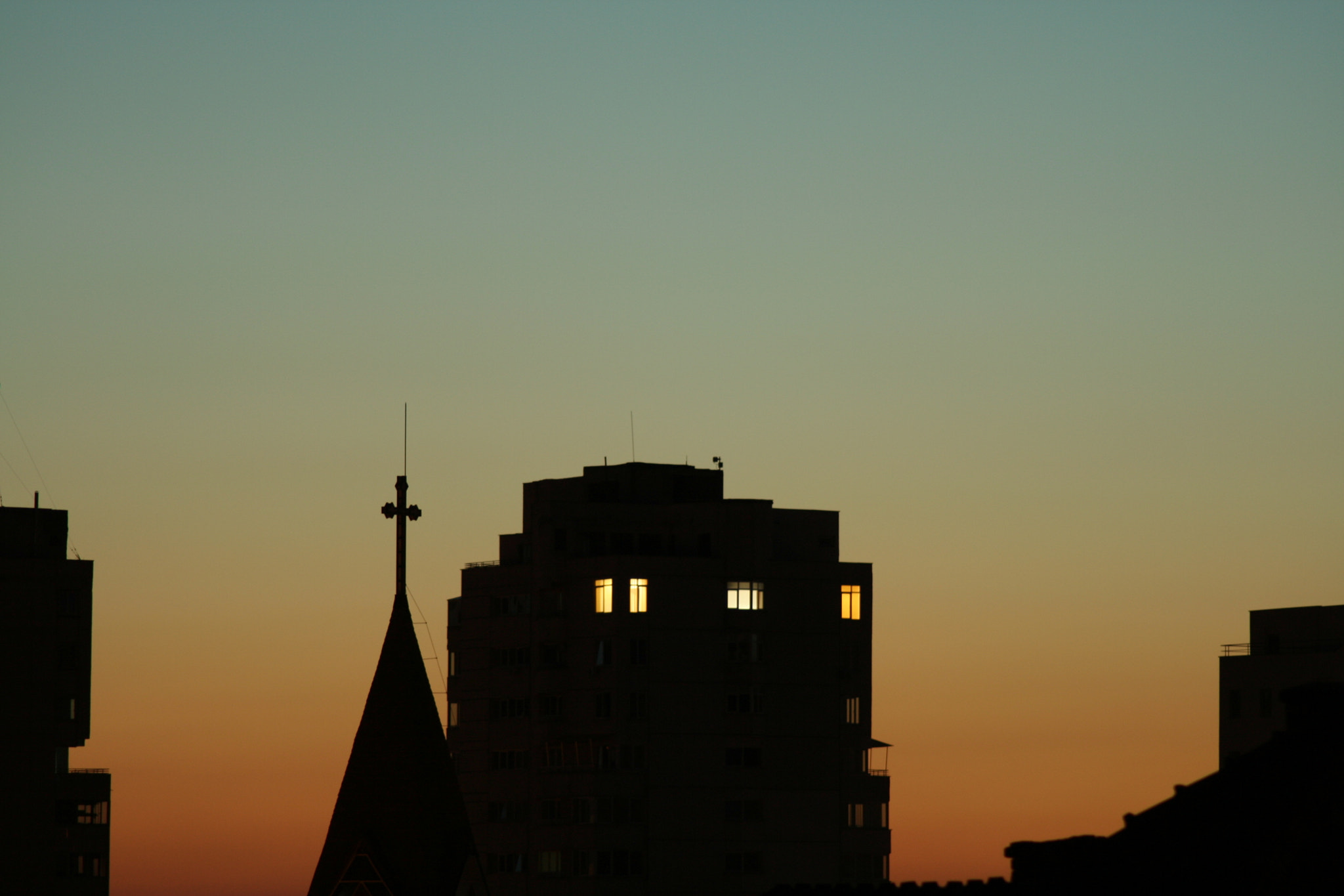 Photograph City dusk by Marius Popescu on 500px