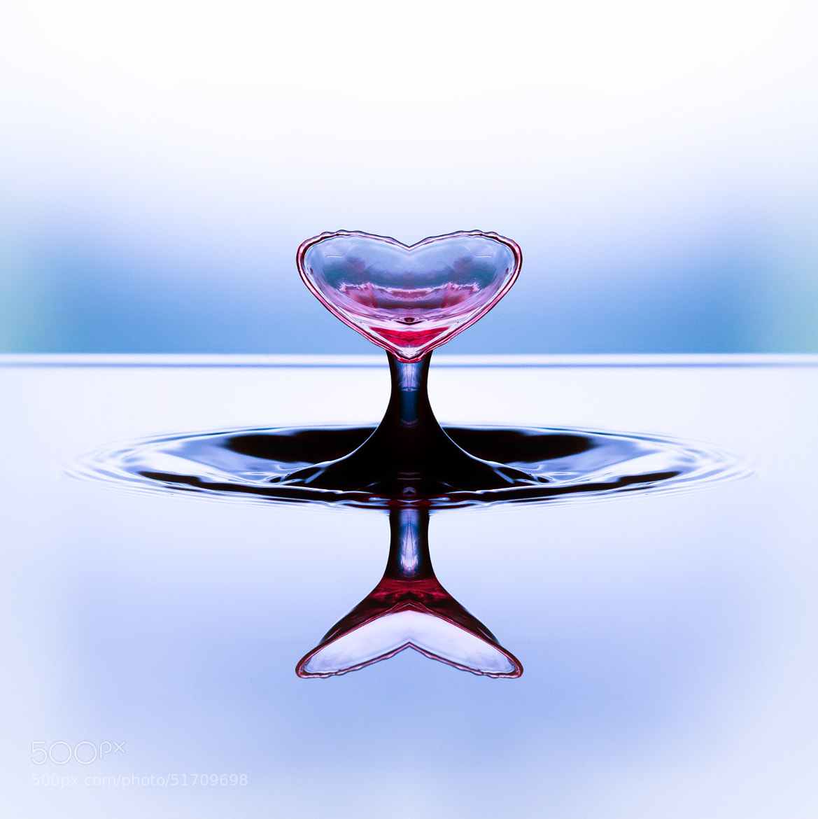 Photograph Liquid heart by Eskil Berget on 500px