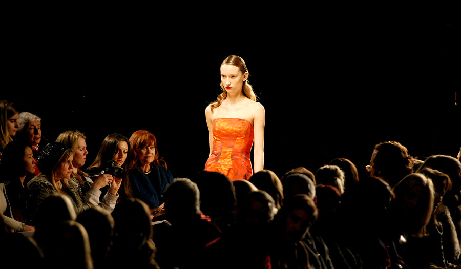 NYFW - Monique Lhuillier show by Matt Hafley on 500px.com