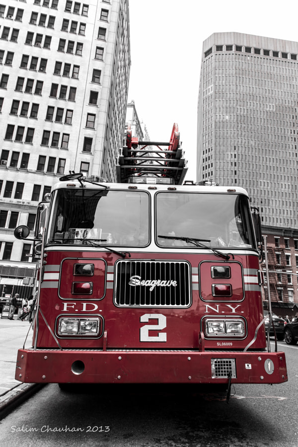 Photograph FDNY 2 by Salim Chauhan on 500px