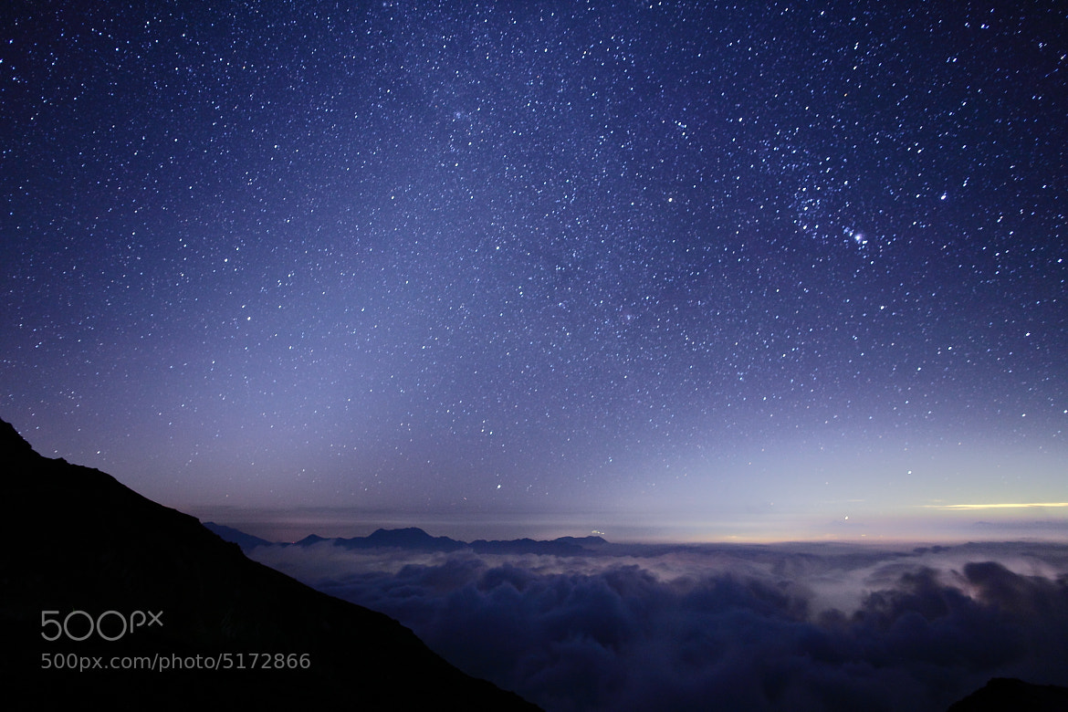 Photograph Zodiacal light  by Noriko Tabuchi on 500px