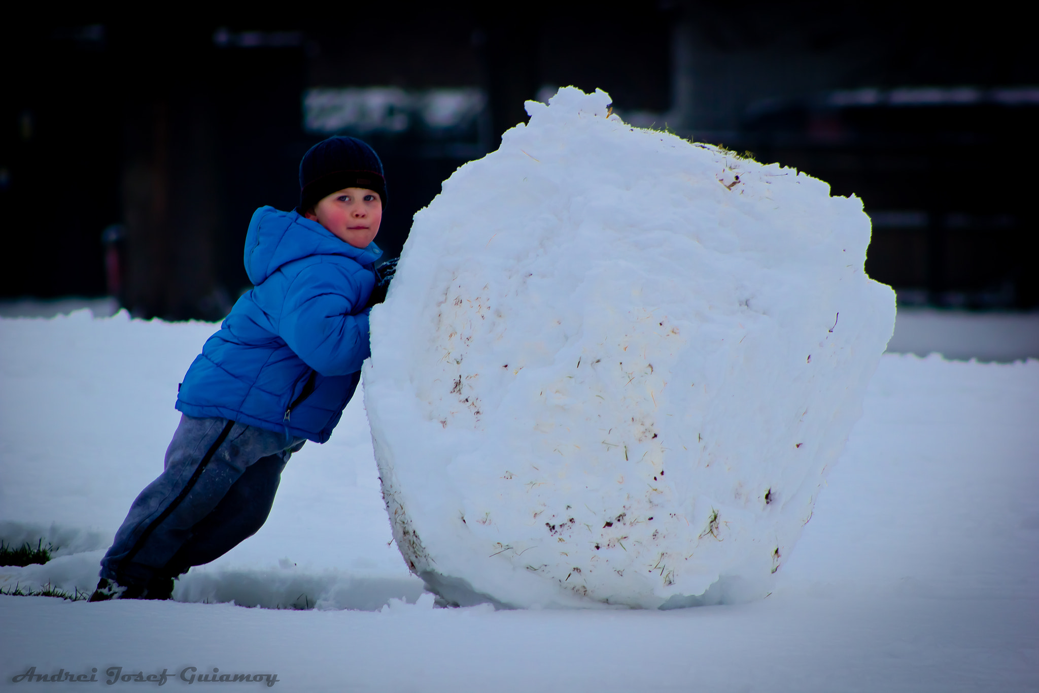 Photograph Snow Ball by Andrei Josef Guiamoy on 500px