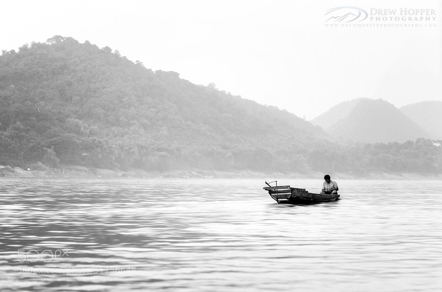 Photograph Mekong Solitude by Drew Hopper on 500px