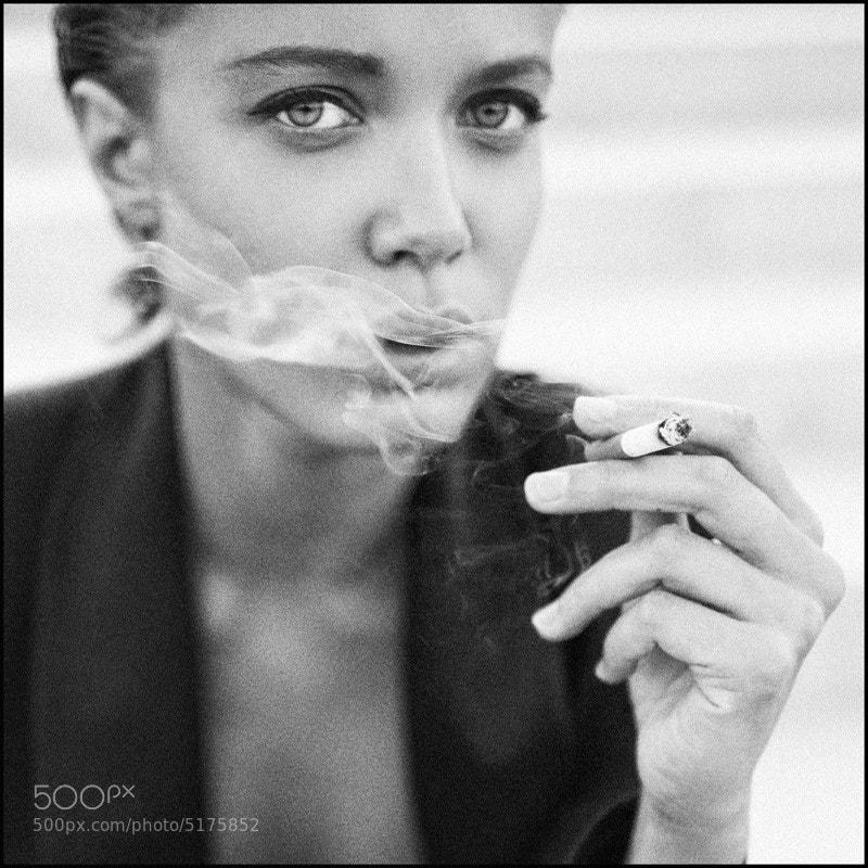 Photograph smoke. by Chucha Babuchina on 500px