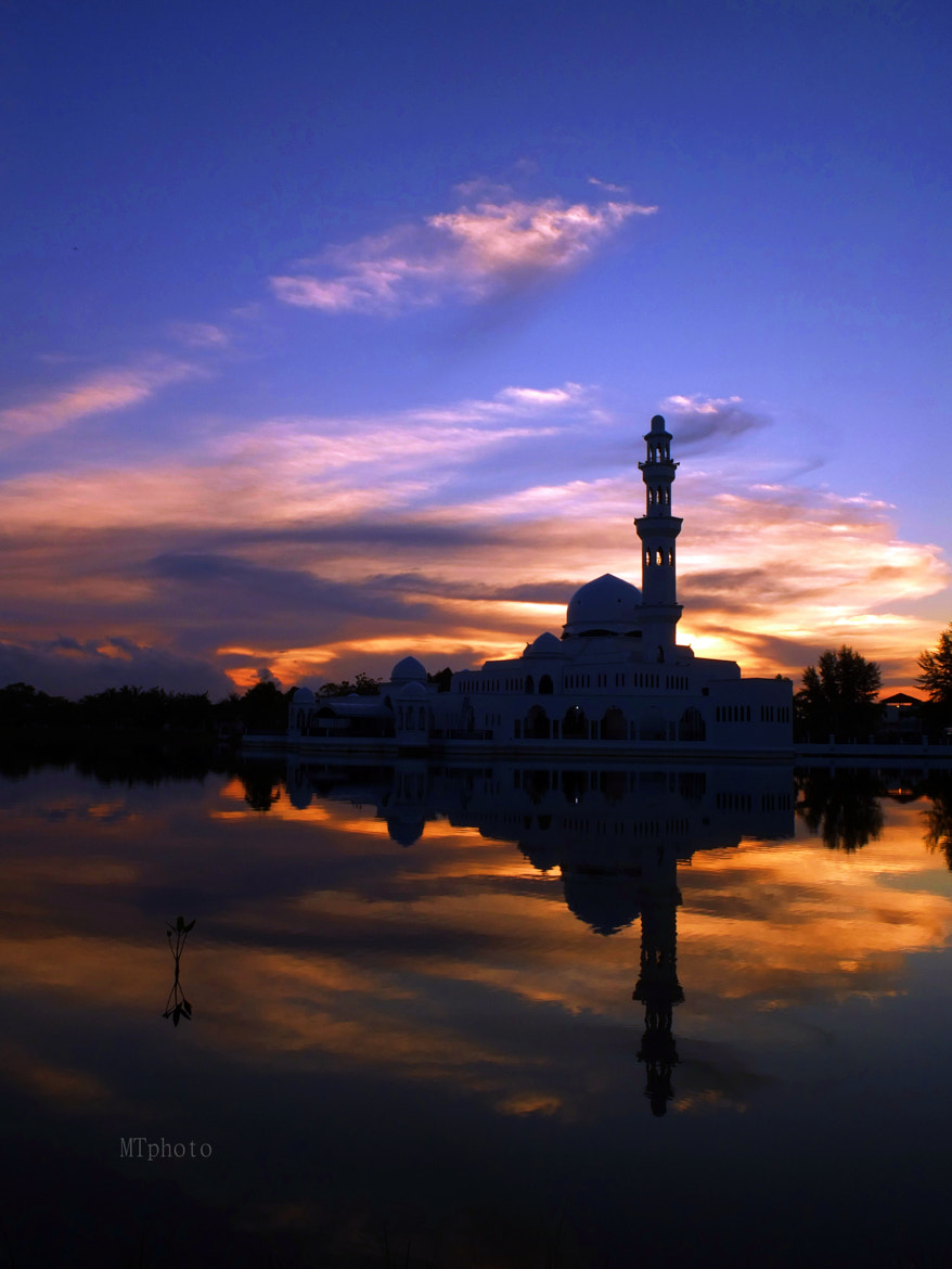 Photograph floating mosque by MTphoto on 500px