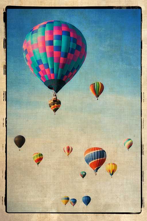 Photograph Old Time Ballon Festival by John Barclay on 500px
