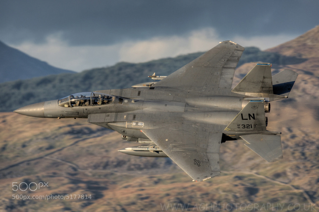 Photograph F15e Strike Eagle by Tony House on 500px