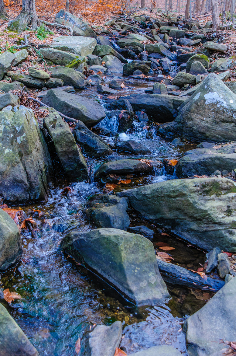Photograph Mini-Waterfalls Along The Stream by Christopher Ryan on 500px