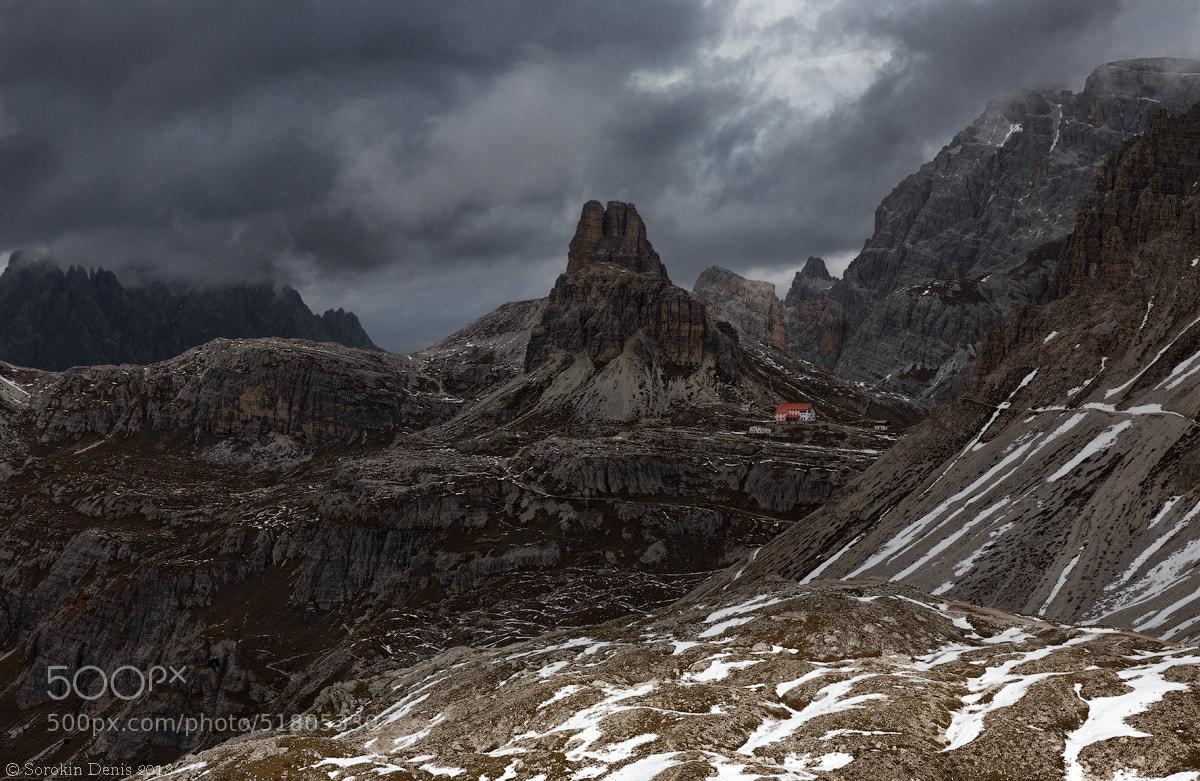 Photograph overcast in the Lavaredo by Denis Sorokin on 500px