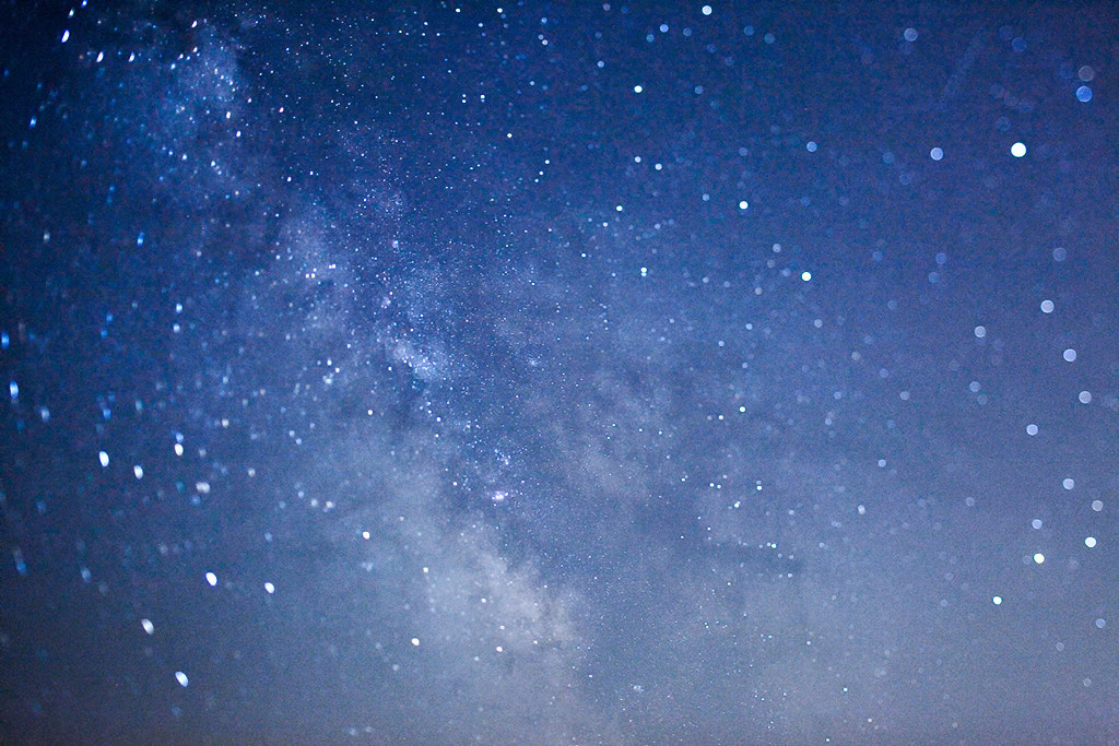 Photograph Blurred stars by Gilles Monney on 500px