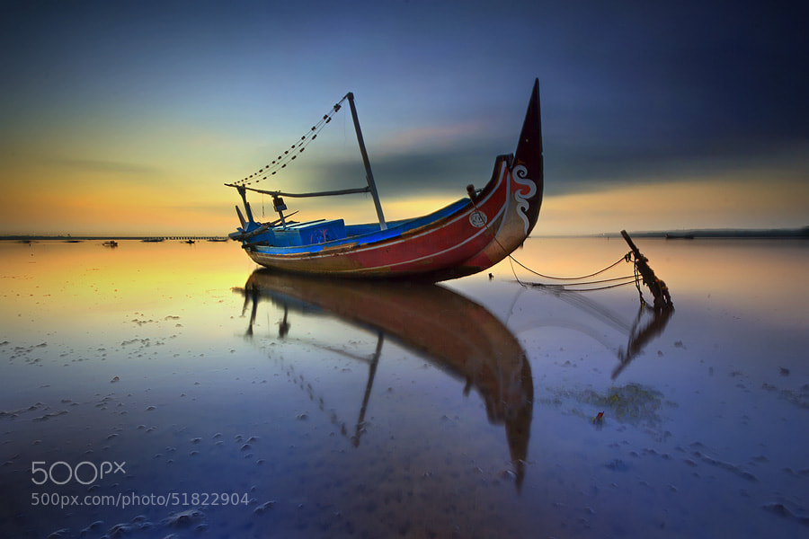 Photograph Stranded Ship by Made Suwita on 500px